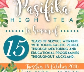 Pasifika High Tea – Celebrating 15 years